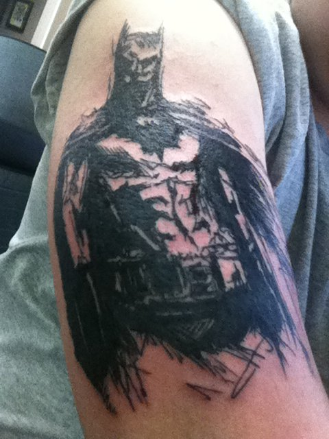 Gothic Batman Tattoo
